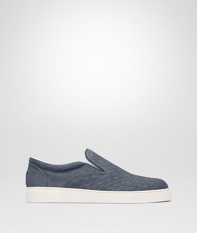BOTTEGA VENETA DODGER SNEAKER IN KRIM INTRECCIATO SUEDE Sneaker or Sandal Man fp