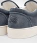 BOTTEGA VENETA DODGER SNEAKER IN KRIM INTRECCIATO SUEDE Sneaker or Sandal Man ap