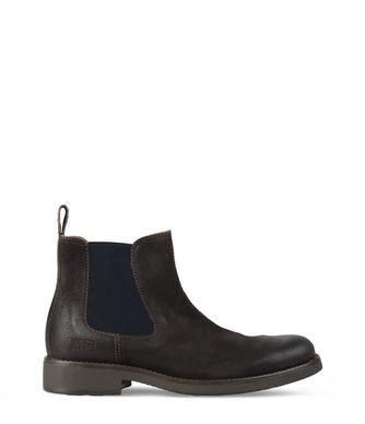 NAPAPIJRI ALVIN MAN ANKLE BOOTS,DARK BROWN