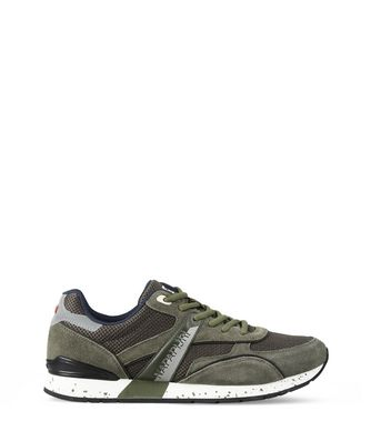 NAPAPIJRI RABARI MAN SNEAKERS,MILITARY GREEN