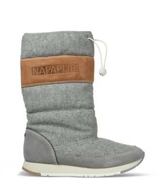 NAPAPIJRI RABINA WOMAN BOOTS,LIGHT GREY