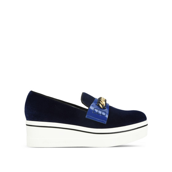 Navy Binx Loafers