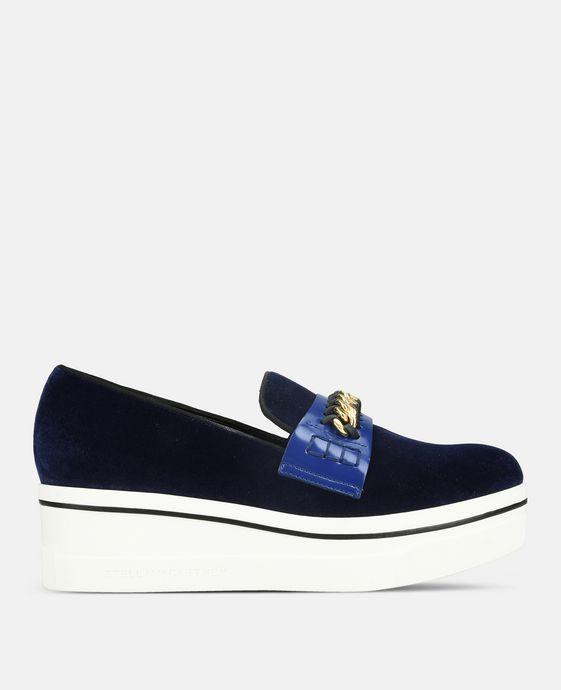 海军蓝 Binx 乐福鞋