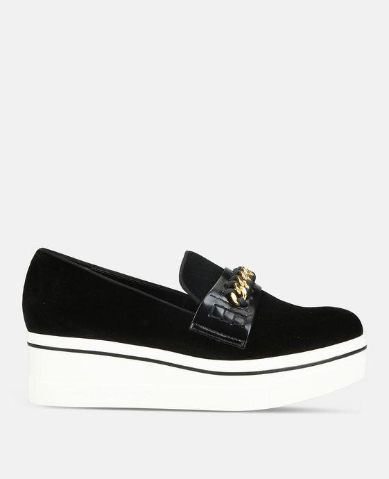 黑色 Binx 乐福鞋