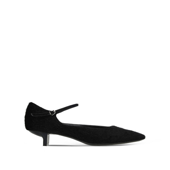 Black Mary Jane Alter Nappa Pumps