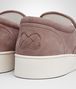BOTTEGA VENETA DODGER SNEAKER IN DESERT ROSE INTRECCIATO SUEDE Trainers Woman ap