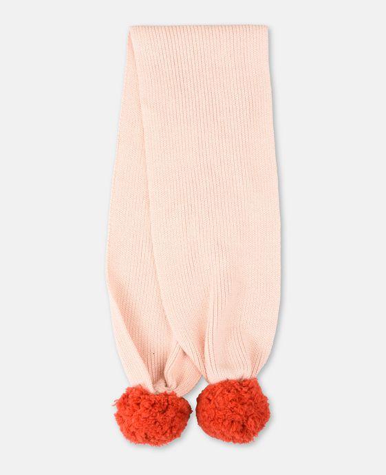 Elvira Pink Knit Scarf