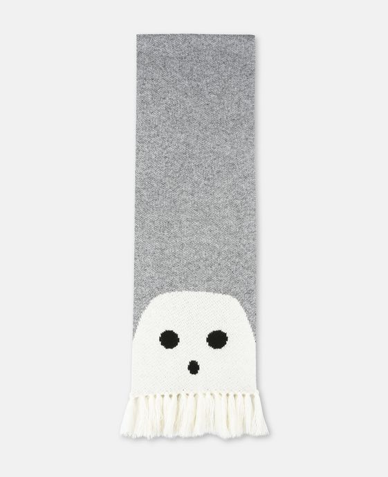 Spook Grey Ghost Scarf