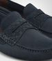 BOTTEGA VENETA WAVE STRIP DRIVER IN DENIM SUEDE Mocassin or Slipper U ap