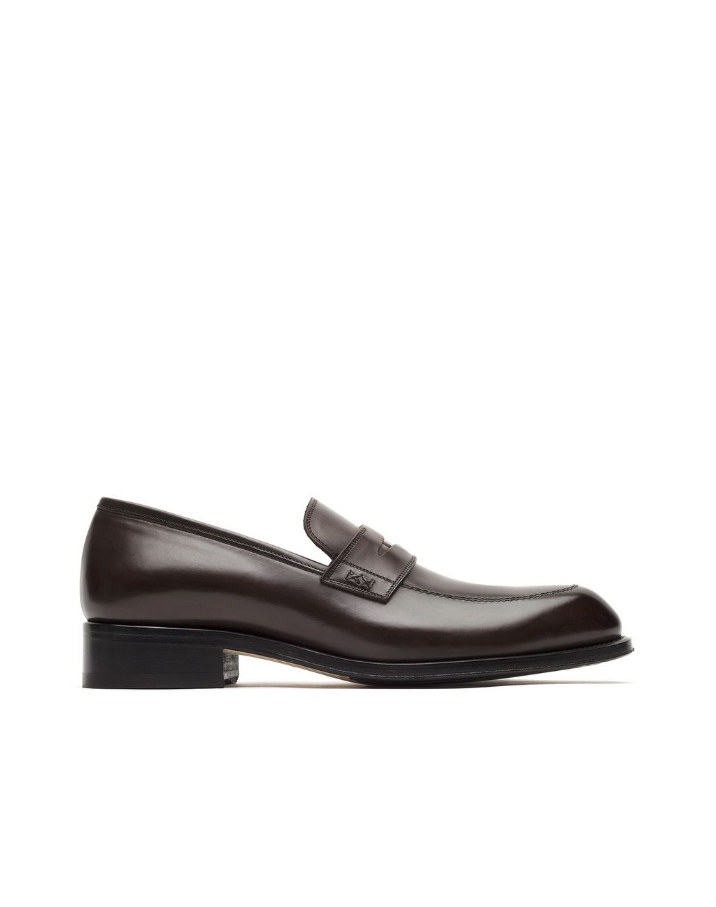 BRIONI Brown Penny Loafer Loafers Man f