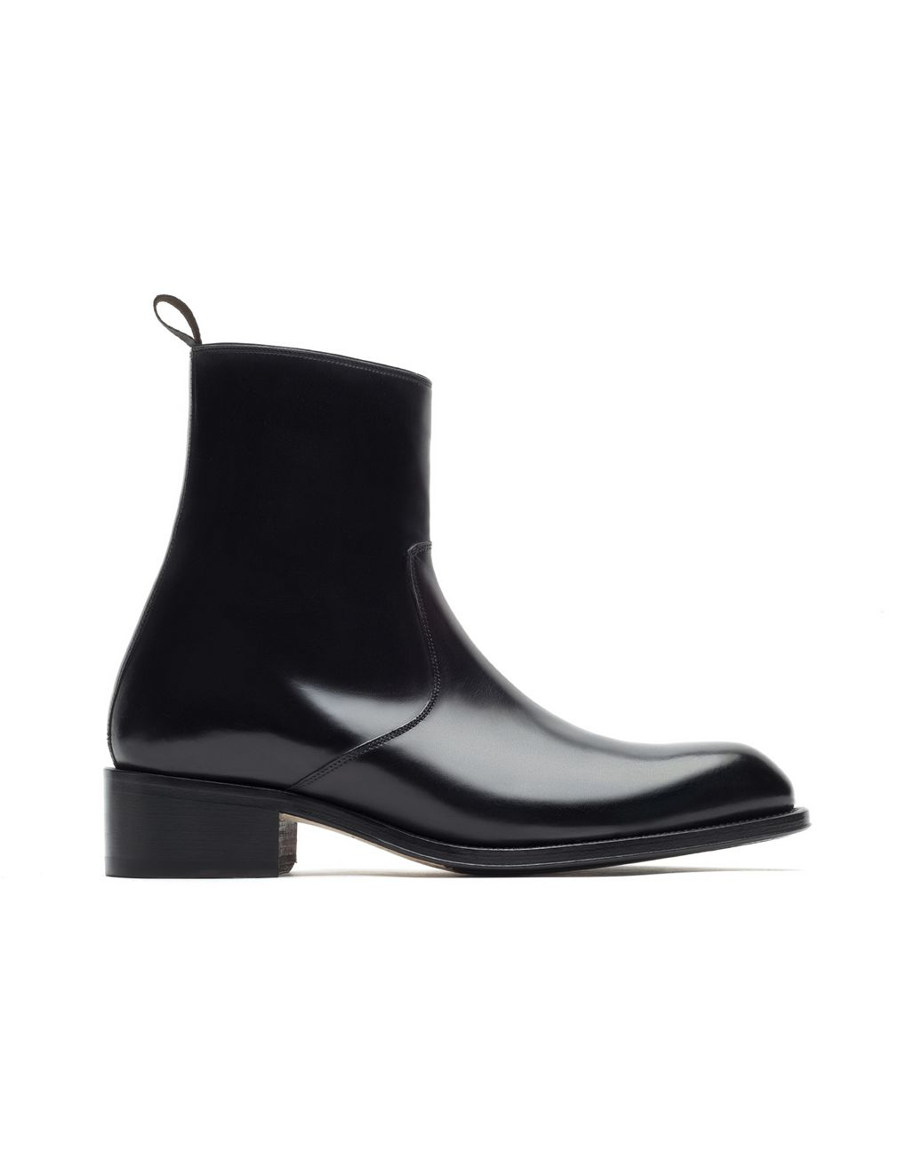 BRIONI Black Formal Boot Booties Man f