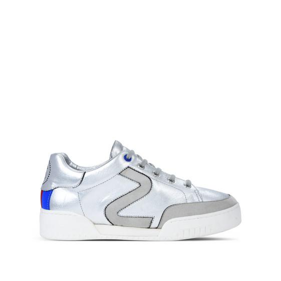 Silver Stella Sneakers