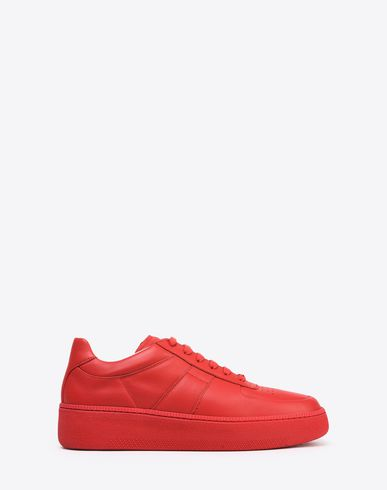 MAISON MARGIELA Sneakers U Calfskin low top sneakers f