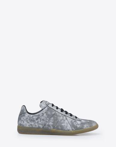 MAISON MARGIELA Sneakers U Reflective calfskin Replica sneakers f