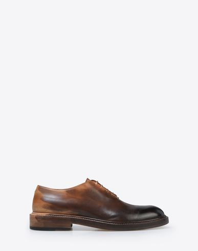 MAISON MARGIELA Laced shoes U Ombré effect calfskin oxfords f