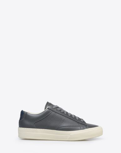 MAISON MARGIELA Sneakers U Low top calfskin sneakers with spray paint detail f