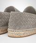 BOTTEGA VENETA GALA ESPADRILLE IN FUME SUEDE, INTRECCIATO DETAILS Sneaker or Sandal U ap
