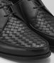 BOTTEGA VENETA CHET DERBY LACE UP IN NERO INTRECCIATO CALF Lace Up U ap