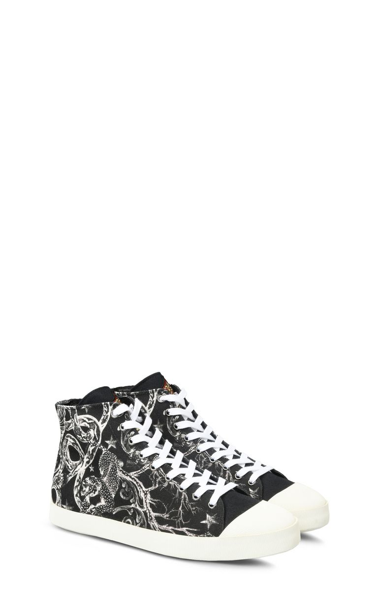 JUST CAVALLI Sneakers with high uppers. Sneakers Man r
