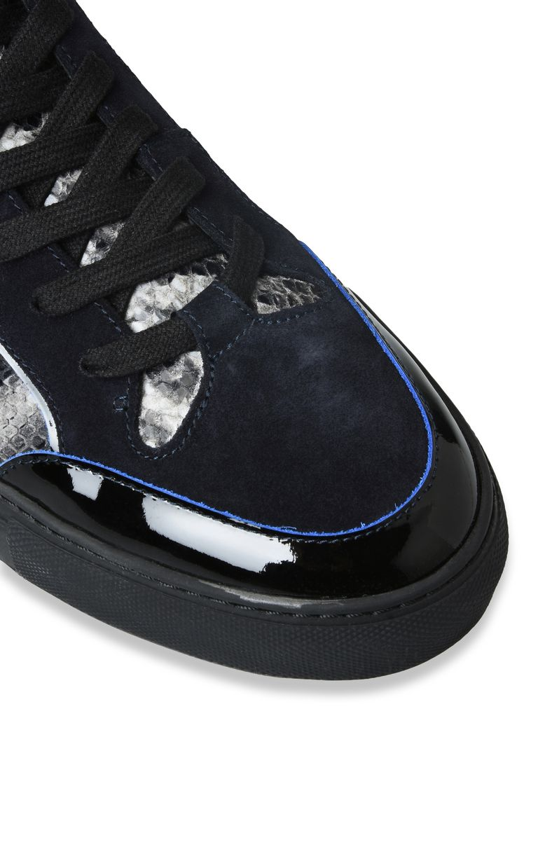 JUST CAVALLI Sneakers with high uppers and straps Sneakers Man e