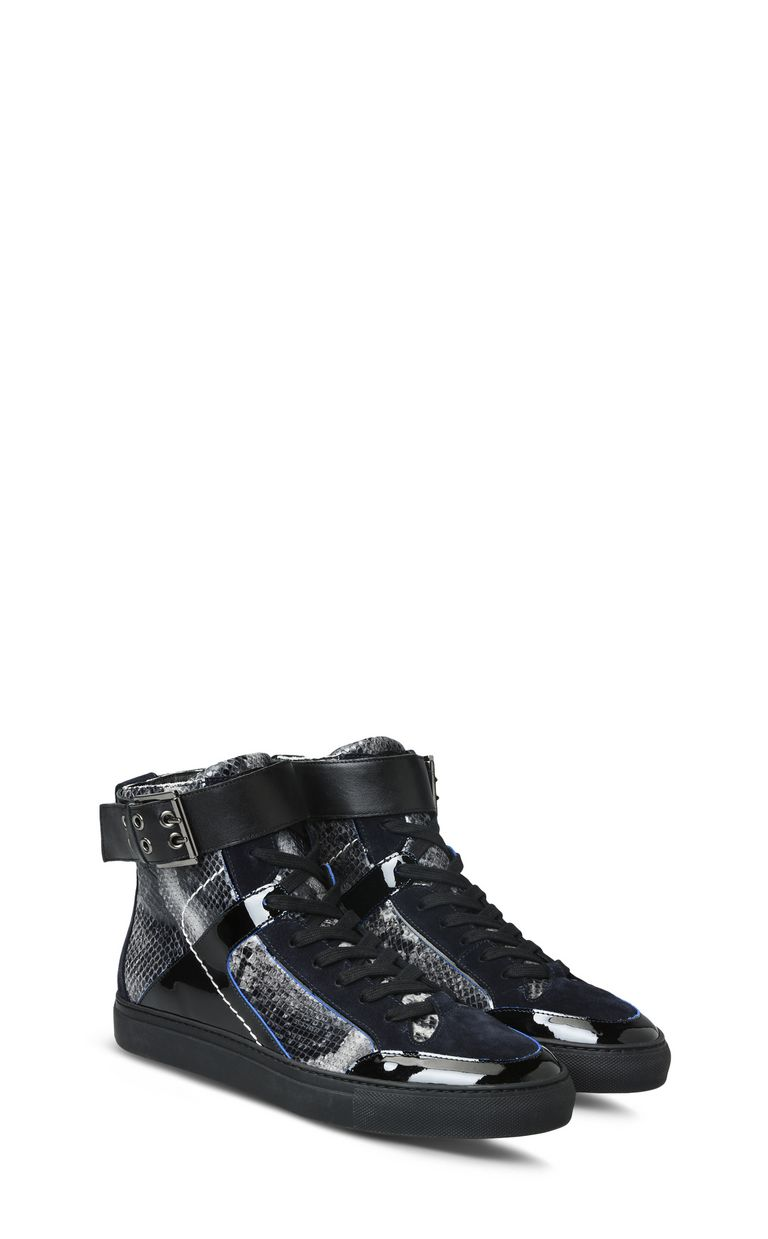 JUST CAVALLI Sneakers with high uppers and straps Sneakers Man r