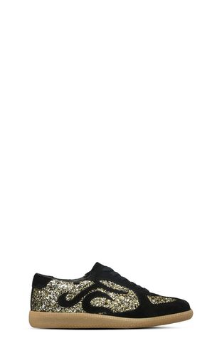 JUST CAVALLI Sneakers D Lace-up glitter sneakers f