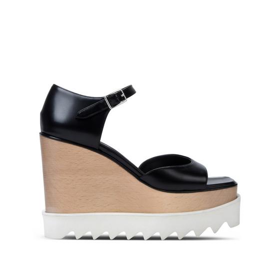 黑色 Elyse 凉鞋