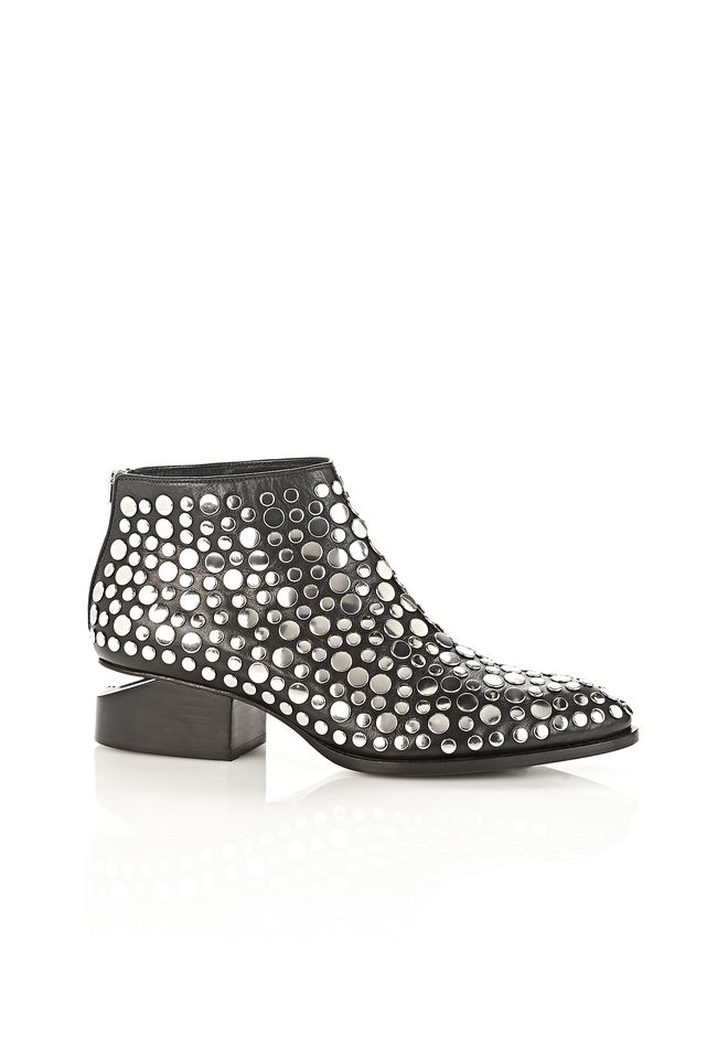 ALEXANDER WANG Boots Women STUDDED KORI OXFORD WITH RHODIUM