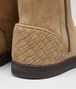 BOTTEGA VENETA WINTER LAGOON BOOT IN CAMEL MONTONE, INTRECCIATO DETAILS Boots and ankle boots D ap
