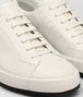 BOTTEGA VENETA THIBO' LACE UP SNEAKER IN MIST CALF, INTRECCIATO DETAILS Sneaker or Sandal U ap