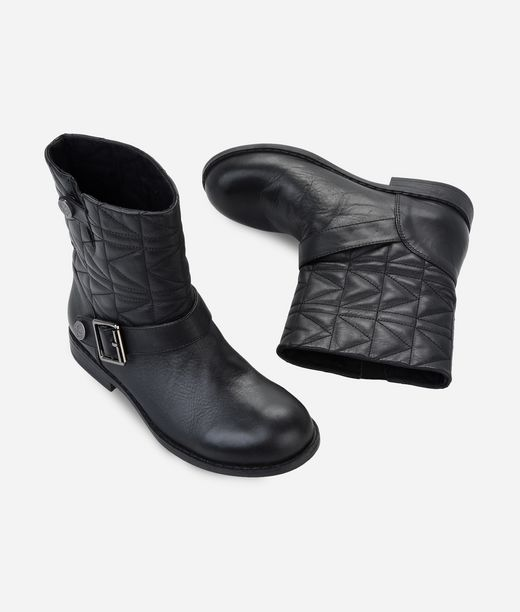 KARL LAGERFELD QUILTED BIKERBOOTS 12_f