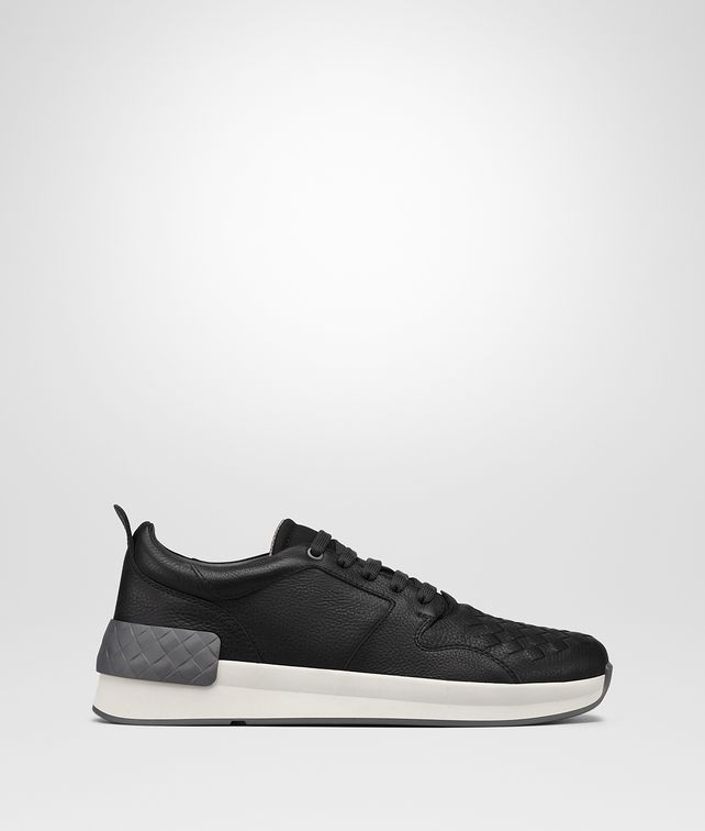 BOTTEGA VENETA NERO CALF BV GRAND SNEAKER Sneakers [*** pickupInStoreShippingNotGuaranteed_info ***] fp