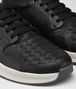 BOTTEGA VENETA BV GRAND SNEAKER IN NERO CALF AND FABRIC Trainers Man ap