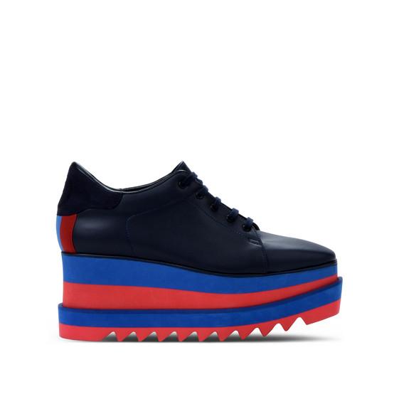 蓝色 Sneak-Elyse 运动鞋