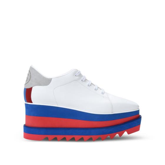 白色 Sneak-Elyse 运动鞋