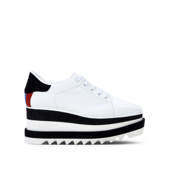 黑白 Sneak-Elyse 运动鞋