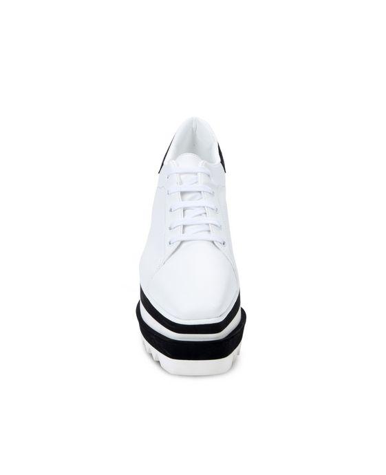 STELLA McCARTNEY Black and White Sneak-Elyse Sneakers Woman g
