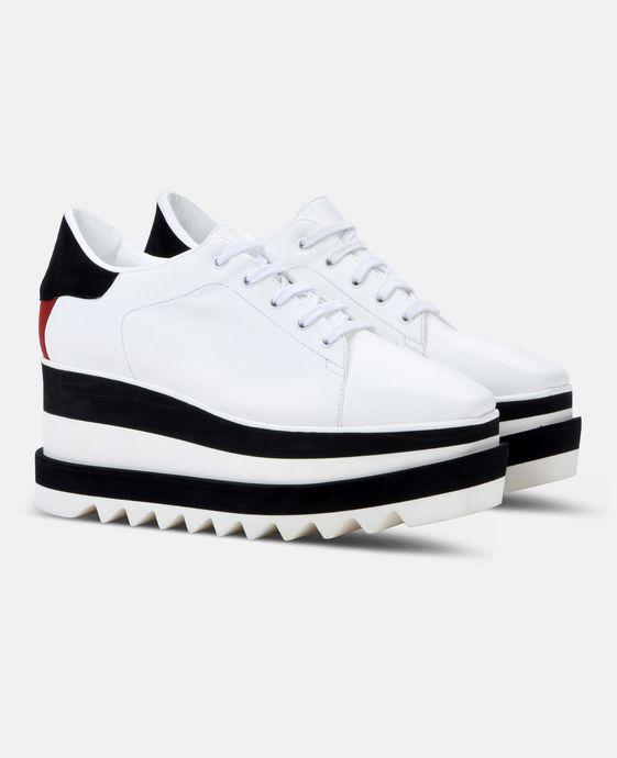 STELLA McCARTNEY Black and White Sneak-Elyse Sneakers Woman h