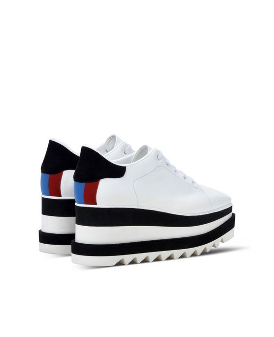 STELLA McCARTNEY Black and White Sneak-Elyse Sneakers Woman i