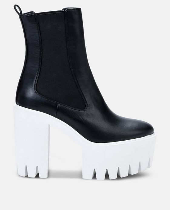 Black and White Monster Boots