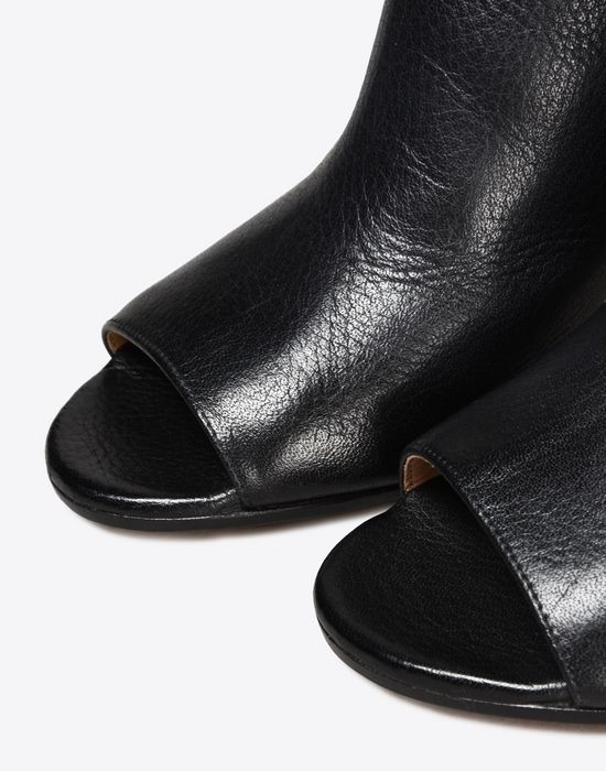 MAISON MARGIELA Calfskin open-toe ankle boots Sandals D a