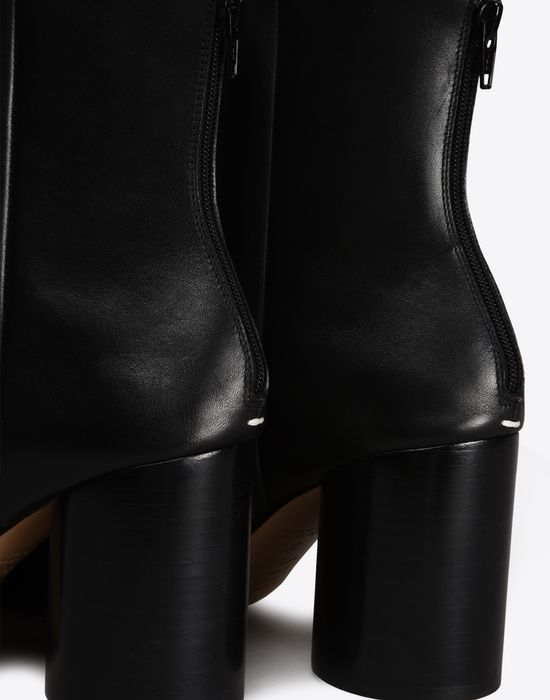 MAISON MARGIELA Calfskin Round-toe 'Socks' ankle boots Ankle boots Woman e