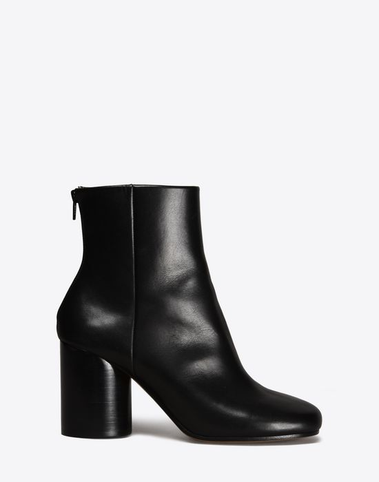 MAISON MARGIELA Calfskin Round-toe 'Socks' ankle boots Ankle boots Woman f