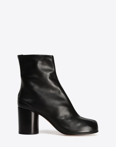 MAISON MARGIELA 22 Ankle boots D Brushed calfskin 'Tabi' boots f