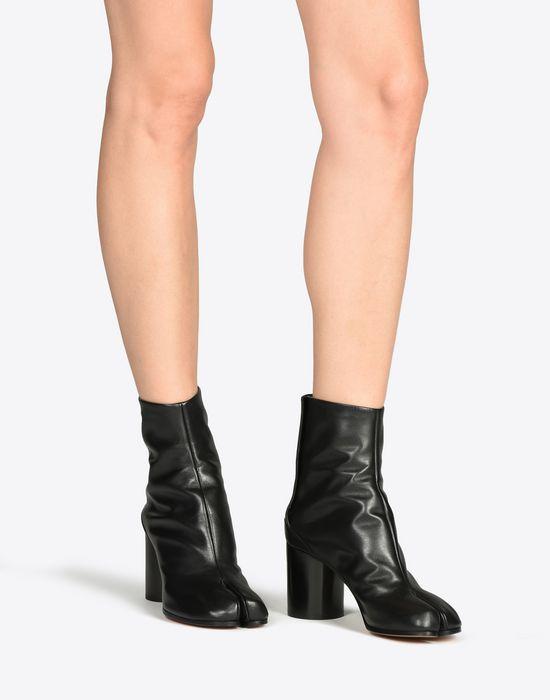 MAISON MARGIELA 22 Brushed calfskin 'Tabi' boots Ankle boots D b