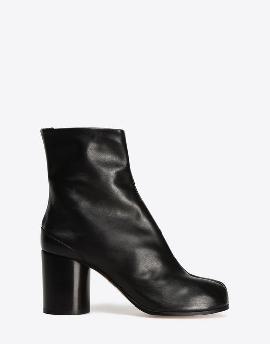 MAISON MARGIELA 22 Brushed calfskin 'Tabi' boots Ankle boots D f