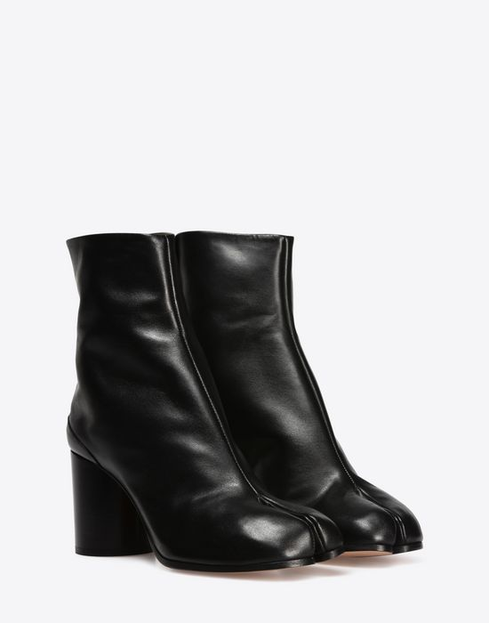 MAISON MARGIELA 22 Brushed calfskin 'Tabi' boots Ankle boots D r