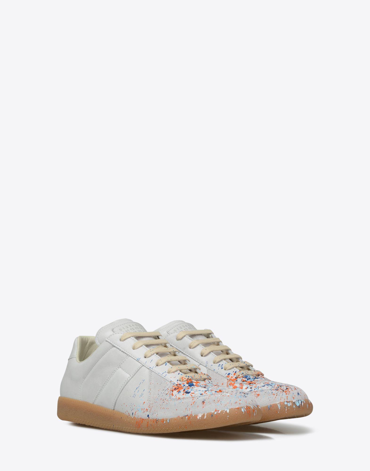 9fe78b8df08 Maison Margiela'Replica' Paint Drop Sneakers Men | Maison Margiela Store