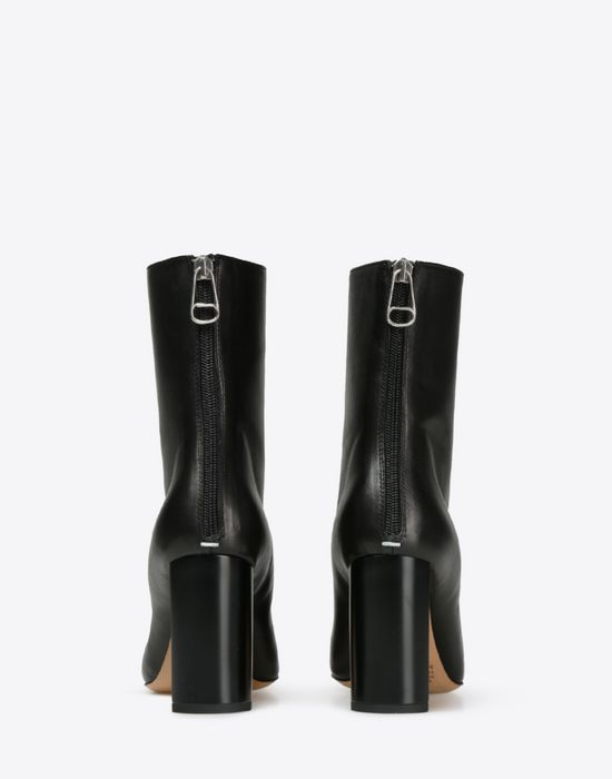 Good Prices how to find more photos Maison Margiela Ankle Boots With Asymmetric Block Heel Women ...