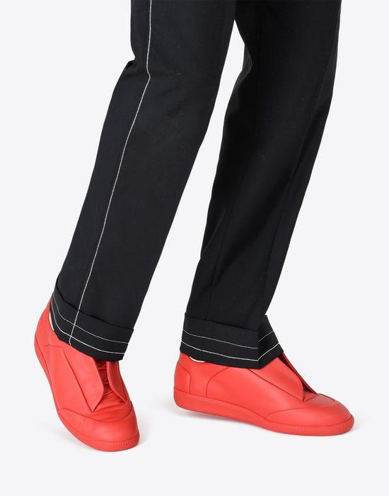 MAISON MARGIELA 'Future' low-top calfskin sneakers Sneakers [*** pickupInStoreShippingNotGuaranteed_info ***] b
